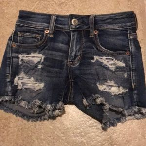 American Eagle Outfitters Midi denim shorts